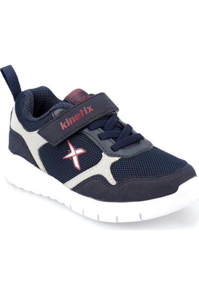Kinetix Rinto Lacivert A Gri Kirmizi Erkek Çocuk Yürüyüş Ayakkabısı