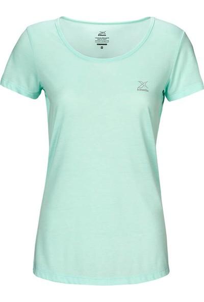 Kinetix Basic T-Shirt Mint Kadın T-Shirt