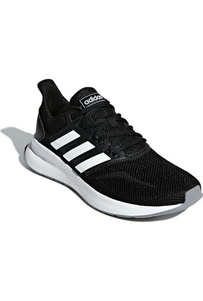 Adidas Runfalcon-. Siyah Beyaz Kadın Koşu Ayakkabısı