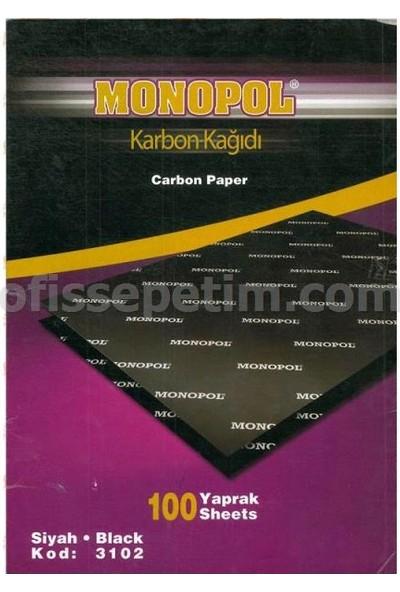 Monopol A4 Karbon Kağıdı 100 Lü Siyah