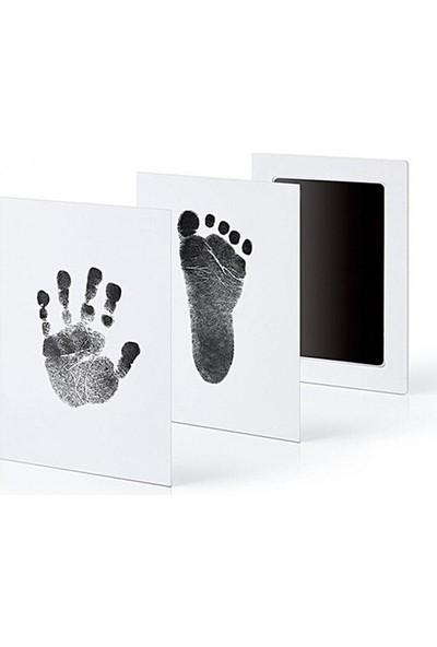 Eva Sales Company Yenidoğan Bebek El ve Ayak İzi Kiti Mürekkepsiz