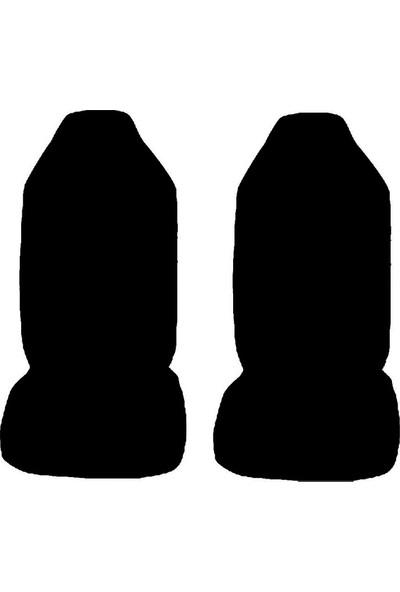 Antwax Oto Koltuk Servis Kılıfı Siyah Ön Koltuklar 2 Li Paket