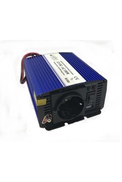 Alpex 600 Watt 12 Volt Modifiye Sinüs İnverter