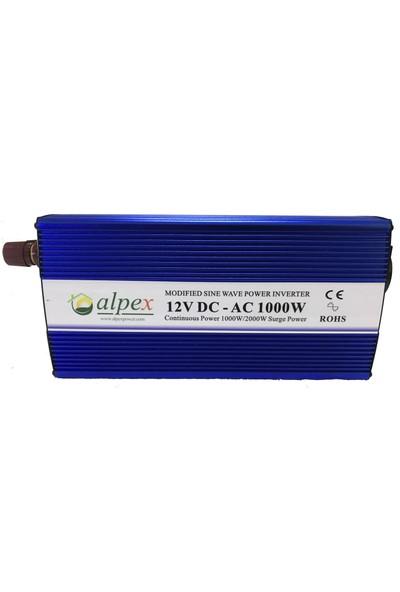 Alpex 1000 Watt 12 Volt Modifiye Sinüs İnverter