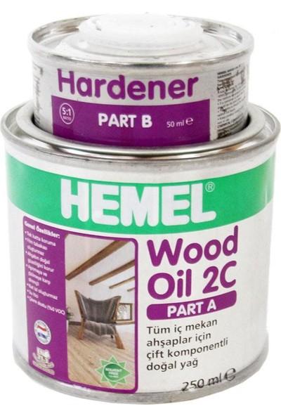 Hemel Wood Oil 2C Set Yağ İç Mekan 0,30 Lt