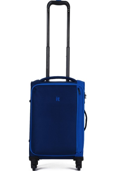It Luggage Kumaş Kabin Boy Valiz It2284-S Mavi