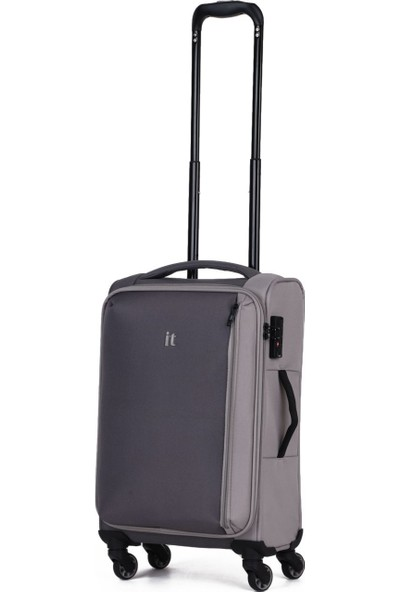 It Luggage Kumaş Kabin Boy Valiz It2284-S Gri
