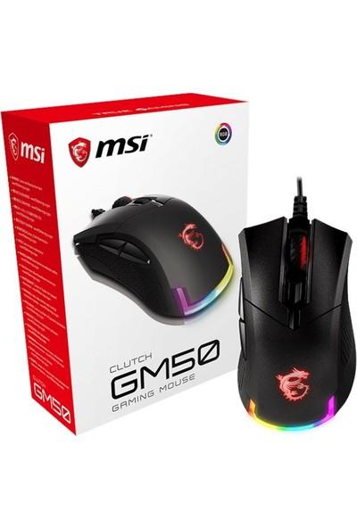 MSI Clutch GM50 Optik RGB Oyuncu Mouse