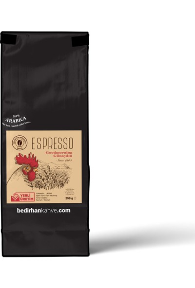 Bedirhan Espresso Kahve 250gr