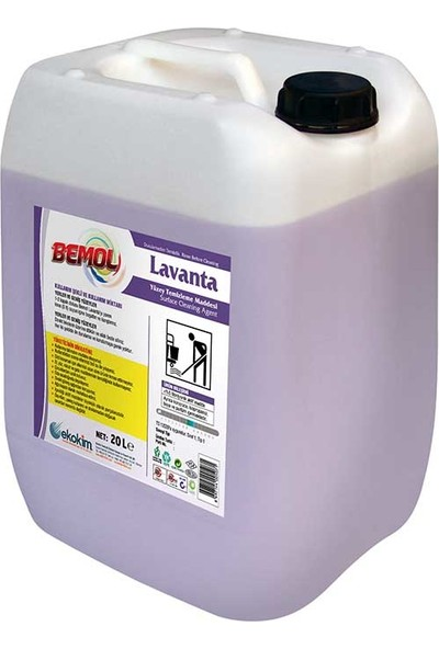 Bemol Lavanta Yüzey Temizleme Maddesi 30 kg