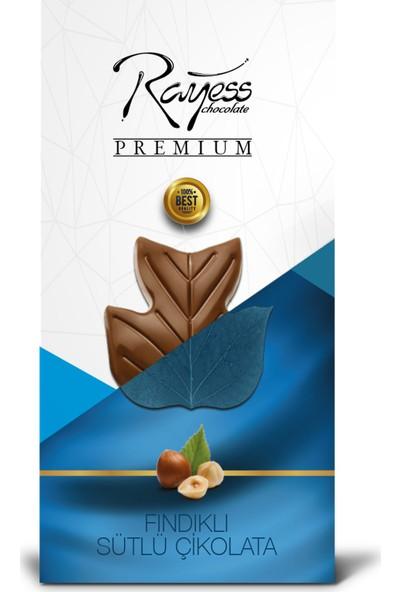 Rayess 100 gr Sütlü Fındıklı Tablet Çikolata