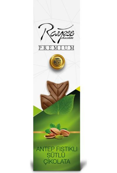 Rayess 40 gr Sütlü Fıstıklı Tablet Çikolata