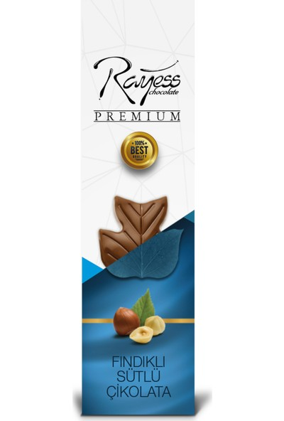Rayess 40 gr Sütlü Fındıklı Tablet Çikolata