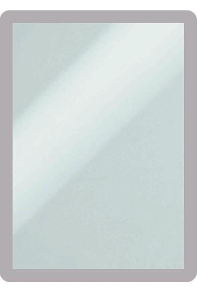 DirektAl Arkası Yapışkanlı Çerçeve Kapakları Mıknatıslı-Duyuru Çerçevesi-Gri