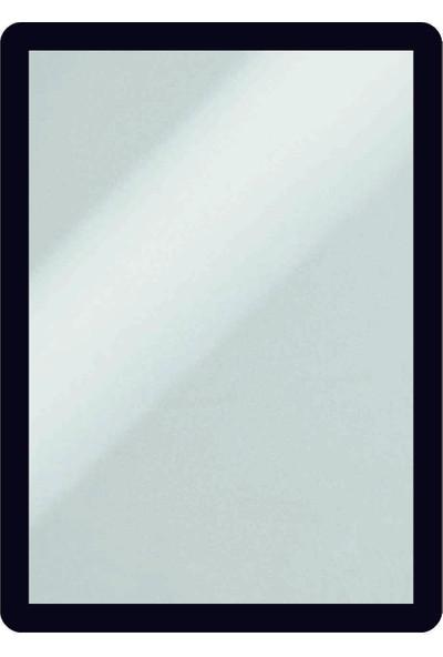 DirektAl Arkası Yapışkanlı Çerçeve Kapakları Mıknatıslı-Duyuru Çerçevesi-Siyah