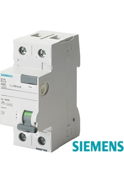 Siemens Kaçak Akım Rölesi 2X40A (300Ma)