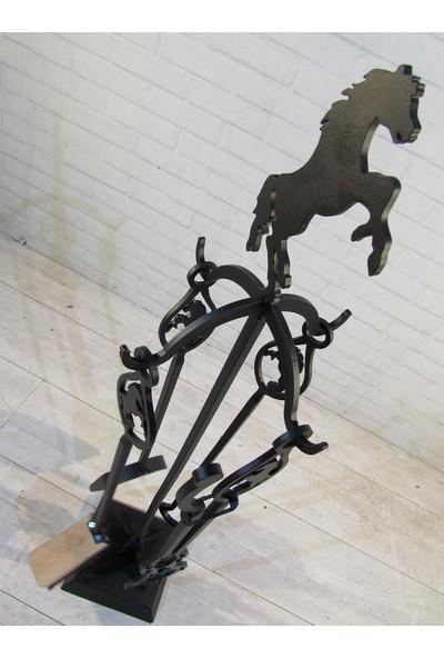Theragone Şömine Takımı At
