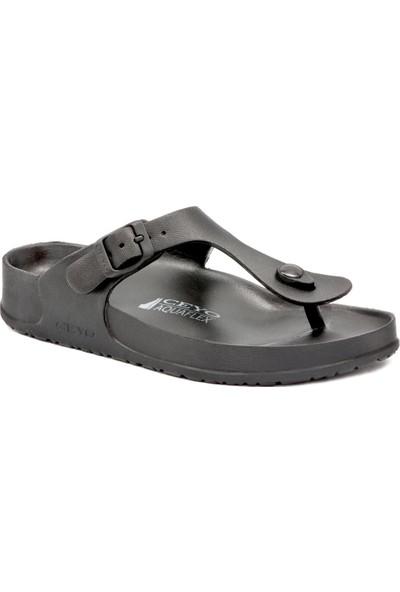 Ceyo 9Y Aquaflex Siyah Terlik Sandalet