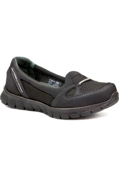 Forelli 61028 Kadın Siyah Spor Ayakkabı