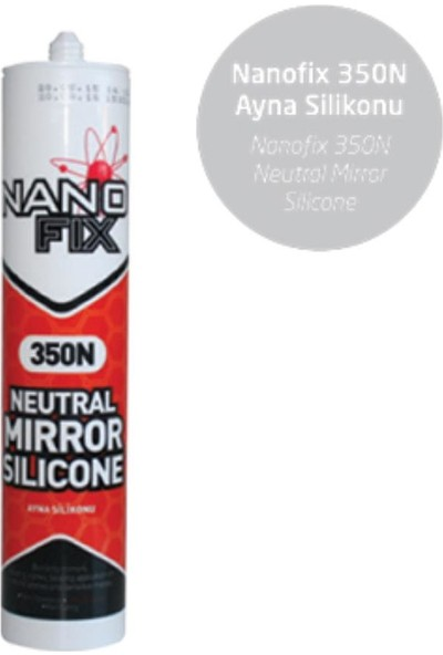 Nanofix Silikon Ayna Şeffaf 350N 360 g