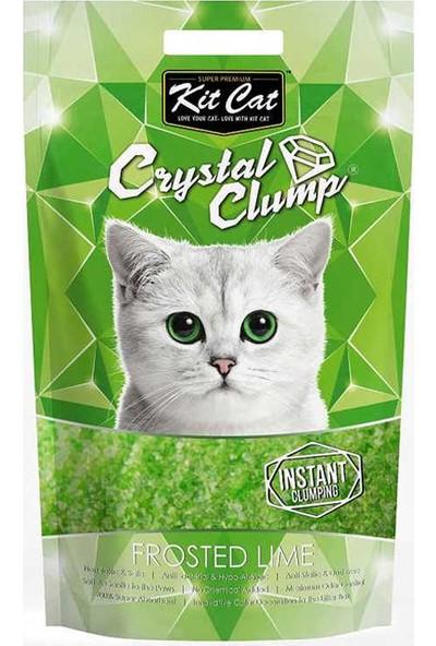 Kit Cat 4 Lt Misket Limon Topaklanan Silica Kedi Kumu