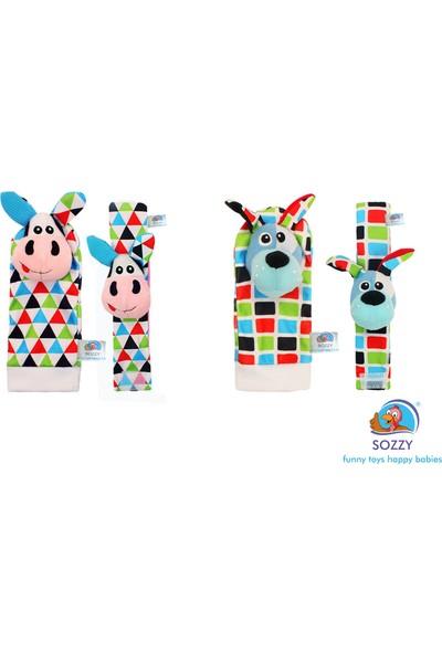 Sozzy Toys Çıngıraklı Çorap ve Bilek'lik Seti