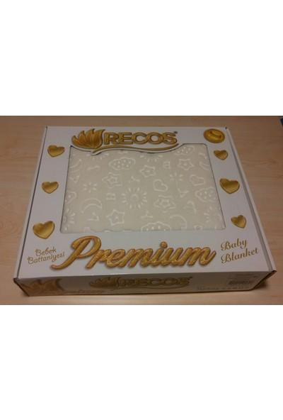 Recos Premium Bebek Battaniye Ekru