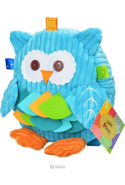 Sozzy Toys Figürlü Sırt Çantası Mavi Baykuş
