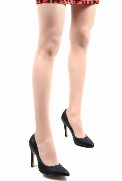 Sapin 23280 Kadın Topuklu Ayakkabı Siyah