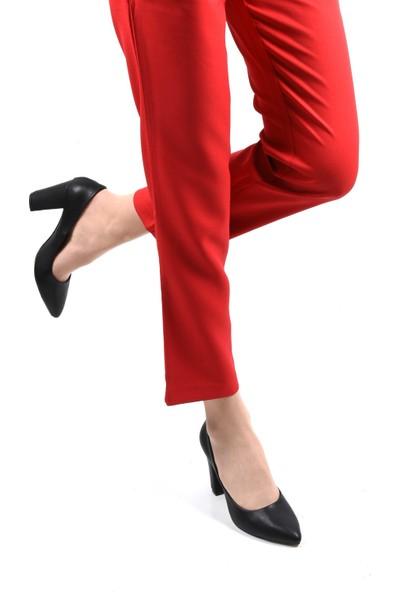 Sapin 23282 Kadın Topuklu Ayakkabı Siyah