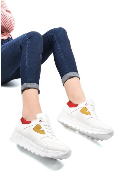 Sapin 23203 Kadın Ayakkabı Beyaz