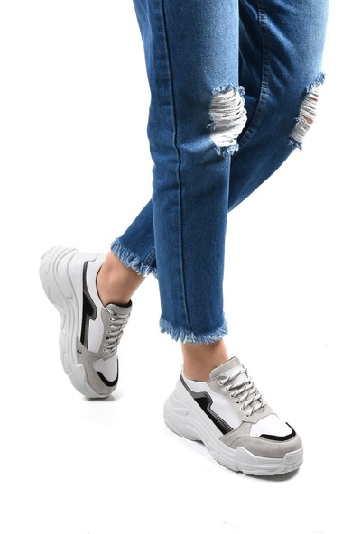 Sapin 23120 Kadın Ayakkabı Beyaz