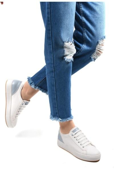 Sapin 23141 Kadın Ayakkabı Mavi
