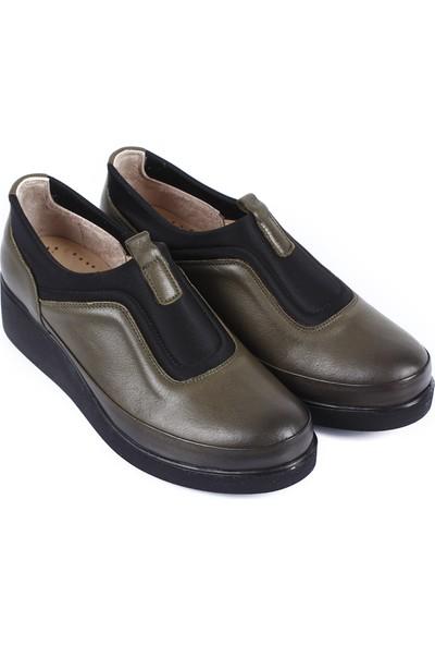 Gön Hakiki Deri Kadın Ayakkabı 33513