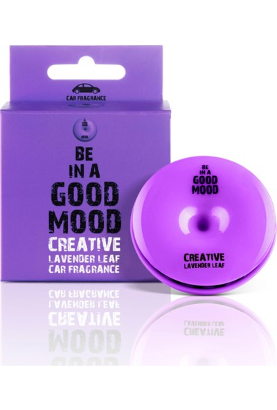 BE IN A GOOD MOOD Oto Kokusu - Araç Kalorifer Kokusu - Araç Parfümü - CREATIVE