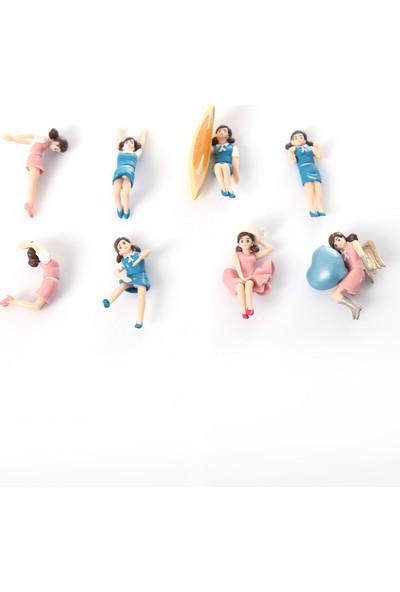 Mien Fuchiko Figure8'li Kızlar Seti Fuchika Kızlar Fincan