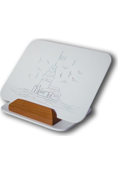 Nartek Tablet Altlığı Kız Kulesi Desenli