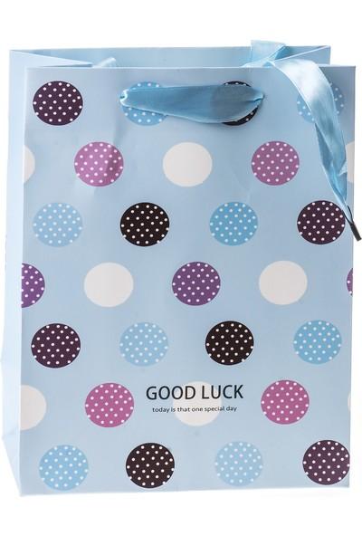 Mukko Home Puantıyelı Karton Çanta 12li Set