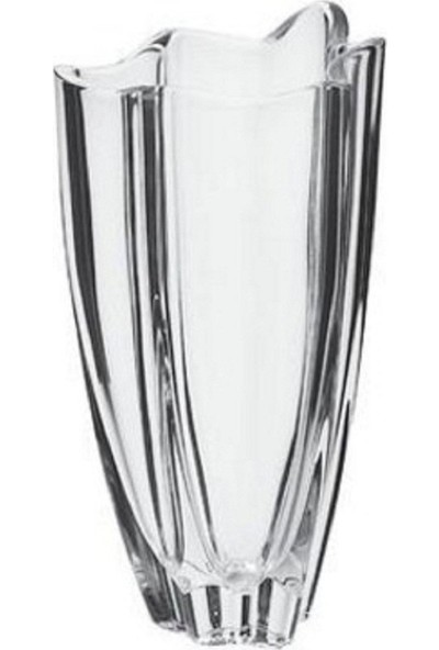 Bohemia Cyrstal Vulcano 30 cm Kristal Vazo