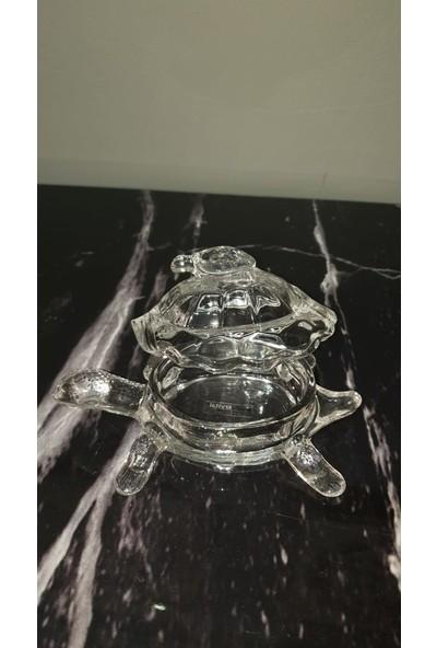 Stui̇o Crystal Kristal Kapaklı Kaplumbağa Sunum Kasesi