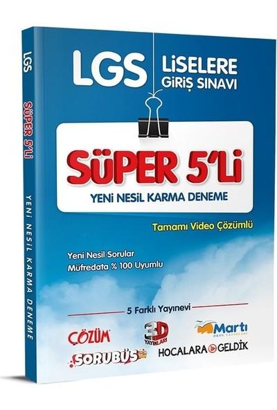 Çözüm Yayınları LGS Süper 5'li Yeni Nesil Karma Deneme Sınavı