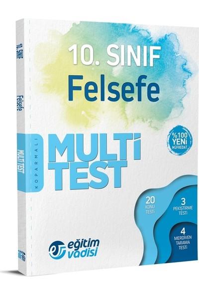 Eğitim Vadisi Yayınları 10. Sınıf Felsefe Multi Test