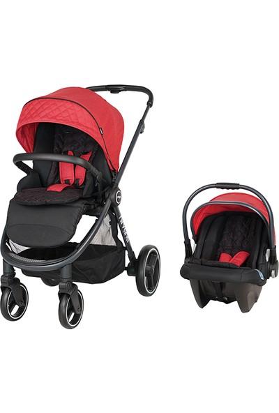 Prego Nirvana Travel Sistem Bebek Arabası Kırmızı