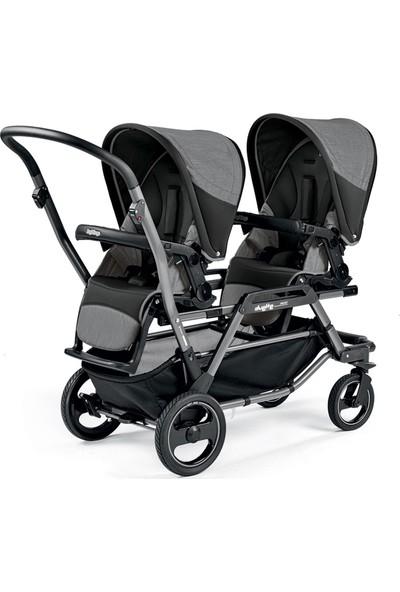 Peg Perego Duette Piroet Titania İkiz Bebek Arabası Luxe Pure