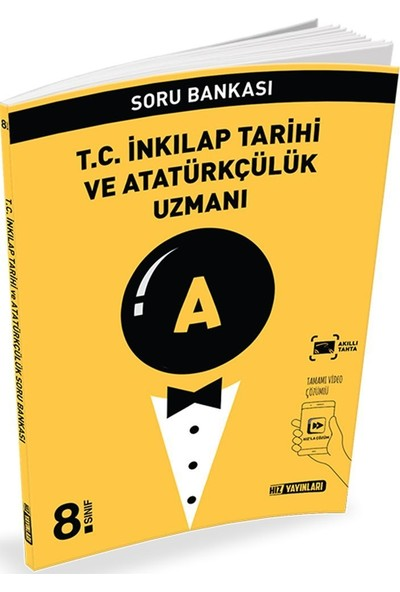 Hız Yayınları 8. Sınıf T.C. İnkılap Tarihi ve Atatürkçülük Uzmanı Soru Bankası