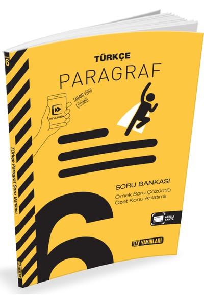Hız Yayınları 6.Sınıf Paragraf Soru Bankası