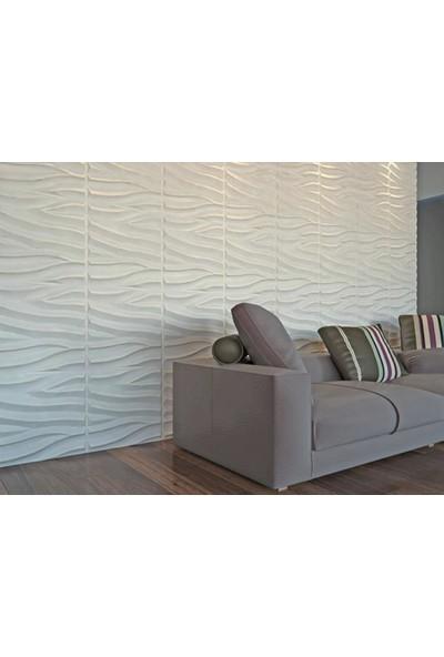 3d Panelim Boyanabilir 3D Duvar Paneli 50 x 50 cm