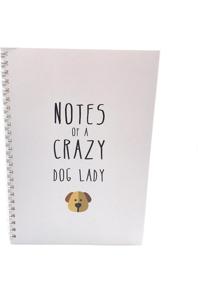 Pati Anneleri Defter - The Notes Of A Crazy Dog Lady