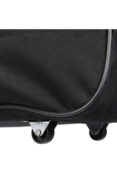 Siyah Kulplu Orta Boy Valiz,Seyahat Çantası,Büyük Boy Outdoor ,Tekerlekli Çanta