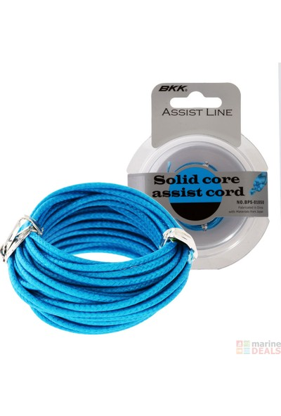 Black King Kong Solid Core Assist Cord